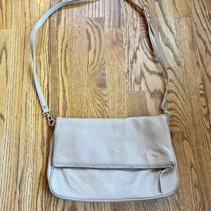 Kate Spade Tan Leather Crossbody Bag